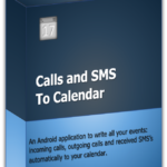 Calls and SMS to Calendar