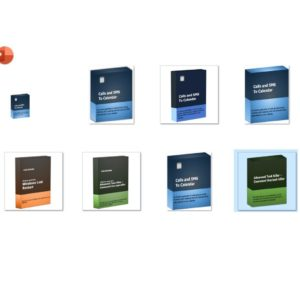 PowerPoint Software Box Template