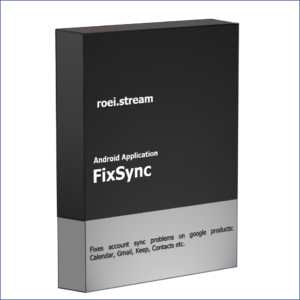 FixSync android application