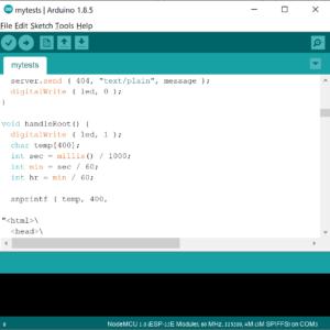 Arduino Code for smart gas sensor